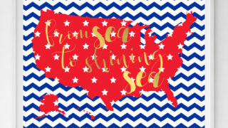 fourth july printable