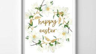 happy easter free printable