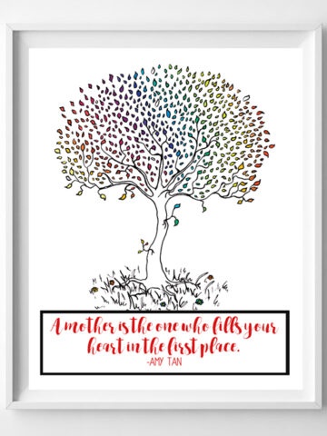 mothers day printable gift