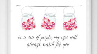 jar of hearts printable