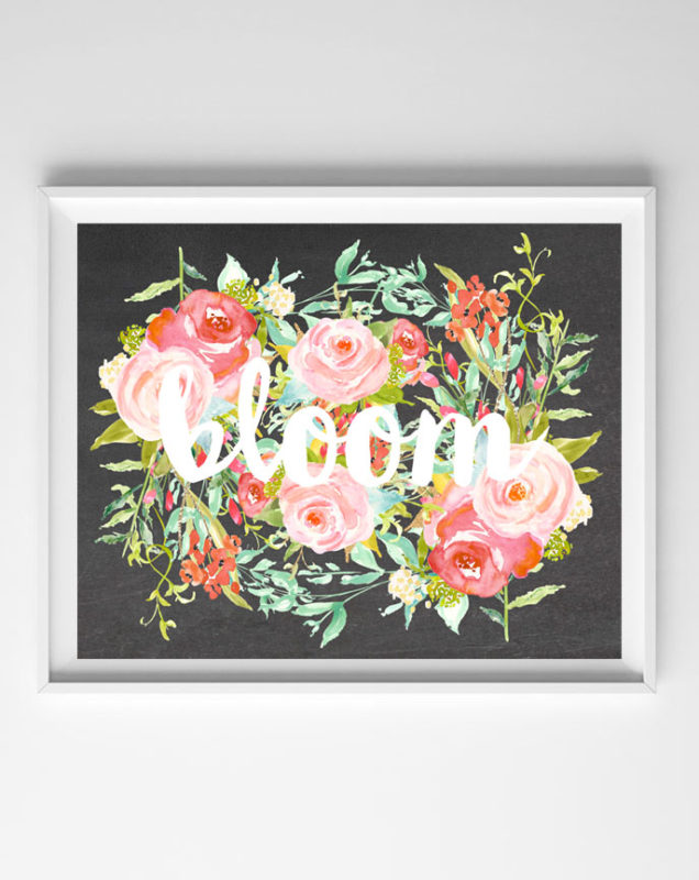 bloom free printable