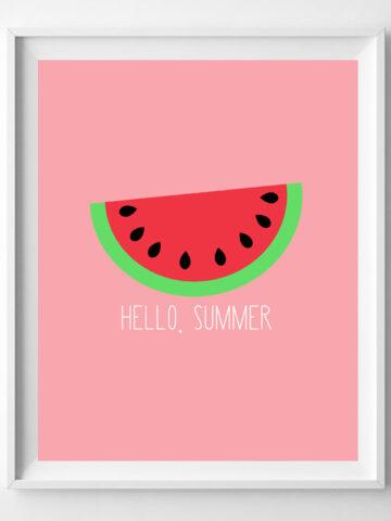 summer printable art
