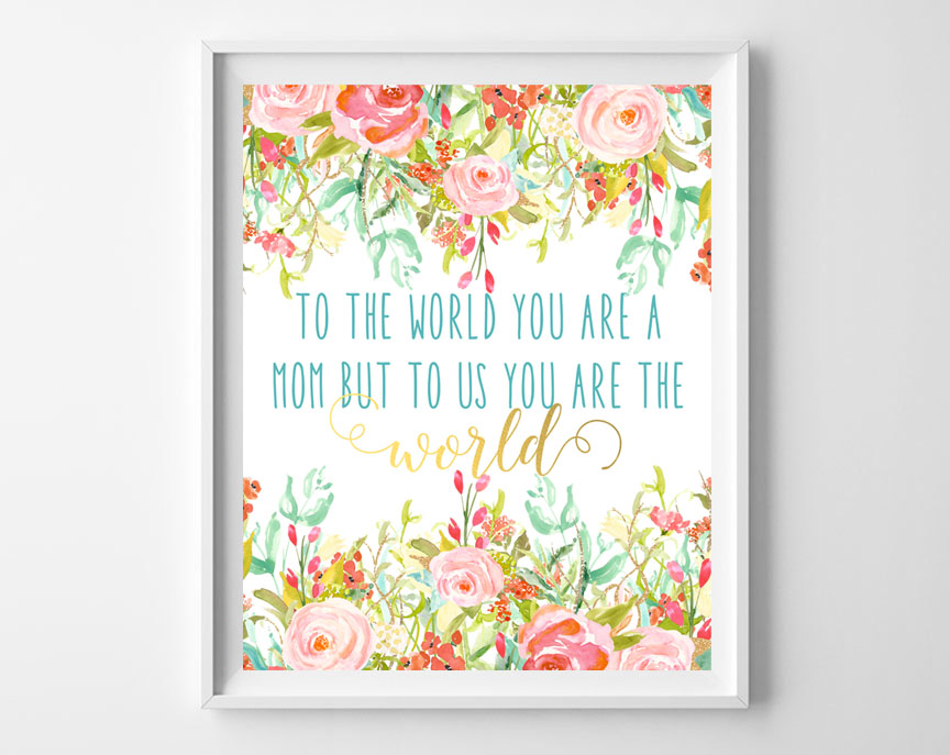 mothers day art printable