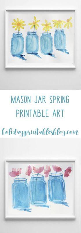 mason jar printables