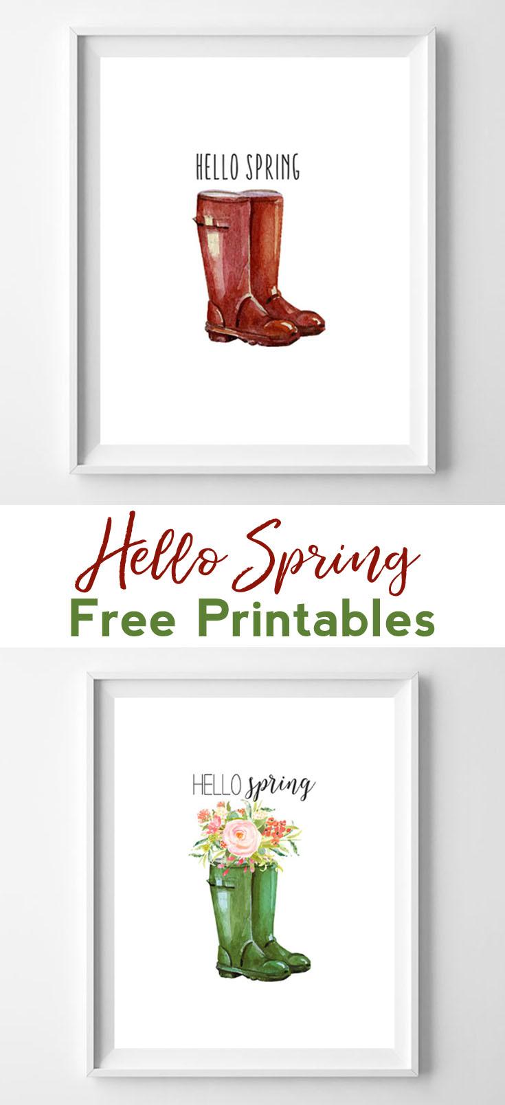 spring printable art