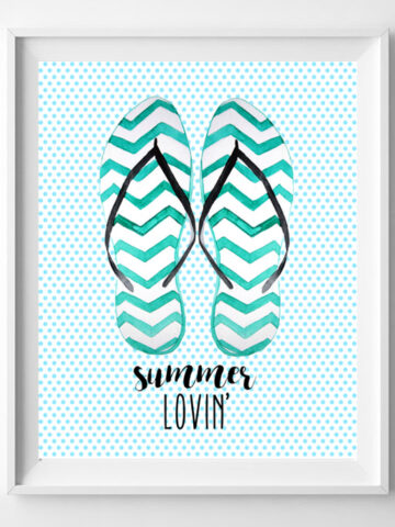 summer lovin' printable