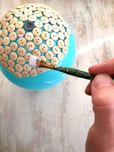 button dish idea