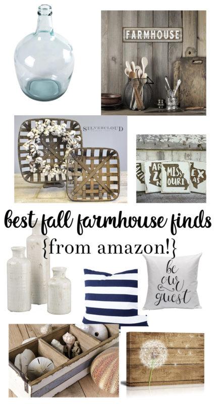 fall farmhouse finds