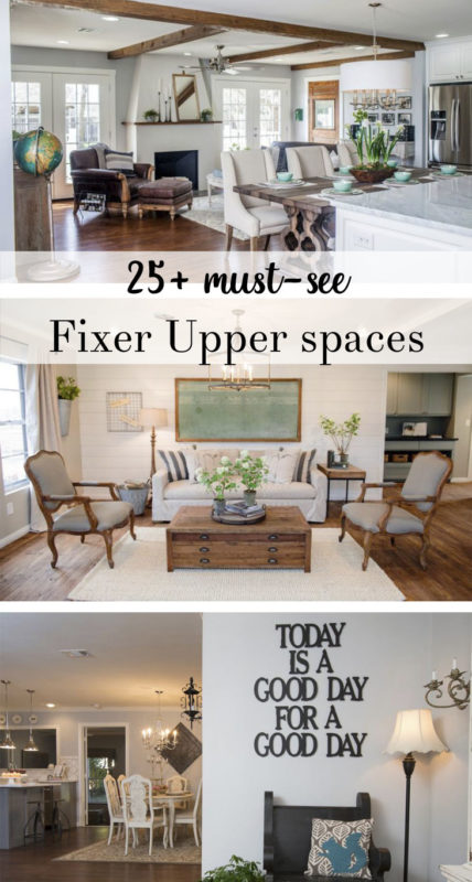 fixer upper rooms
