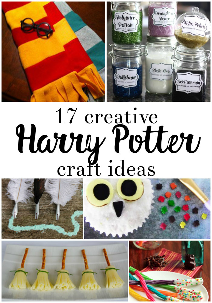 Over 50 Awesome Harry Potter Projects - Rae Gun Ramblings  Diy Harry Potter Everyday Stuff