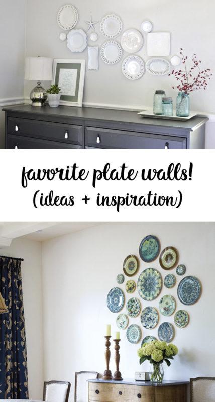 plate wall inspiration