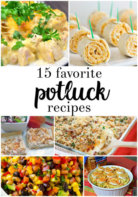 potluck recipes favorite