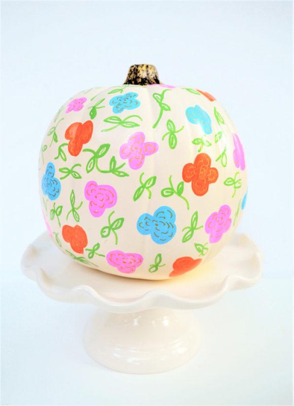 pumpkin decorating idea