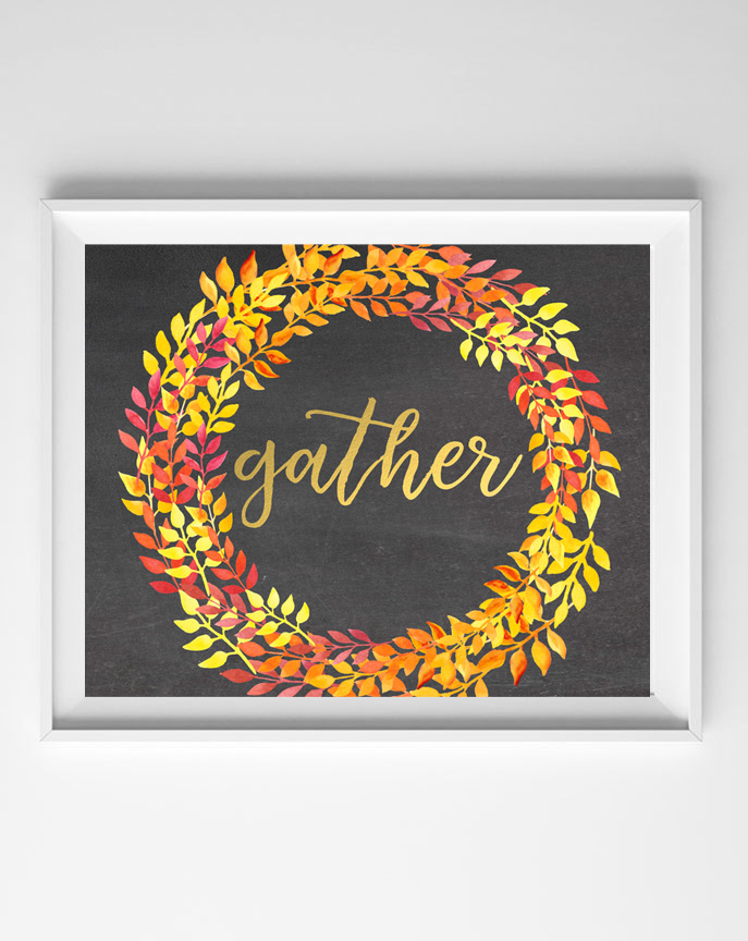 free fall printables {gather}