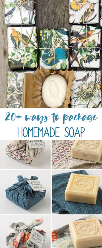 package homemade soap