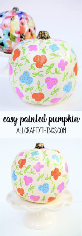 easy pumpkin decorating