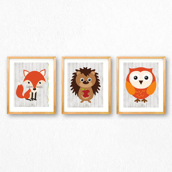 photo regarding Printable Woodland Animals called woodland pets no cost printables - all cunning elements