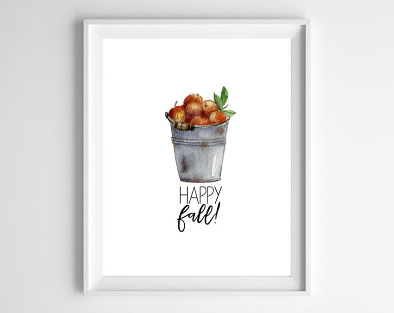 watercolor fall printable 2