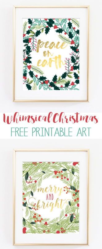christmas printable art 1