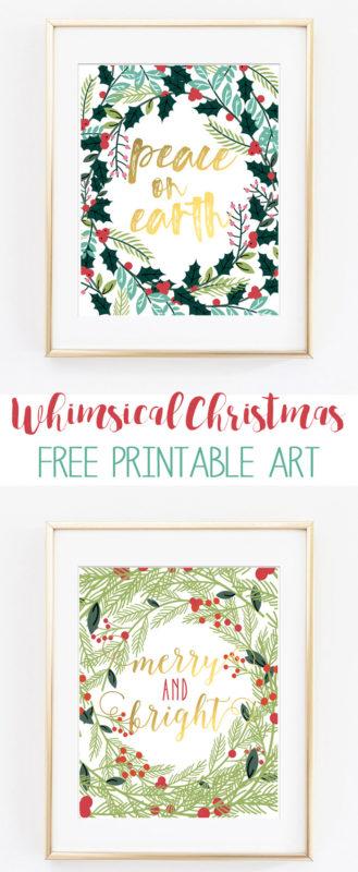 christmas printable art 1