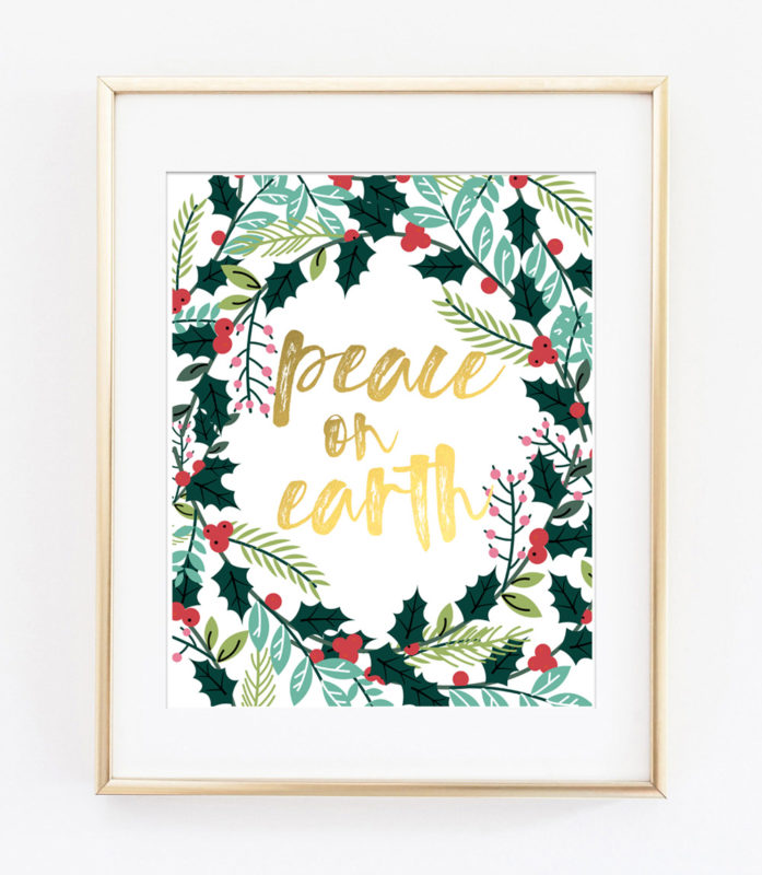 christmas printable art 2