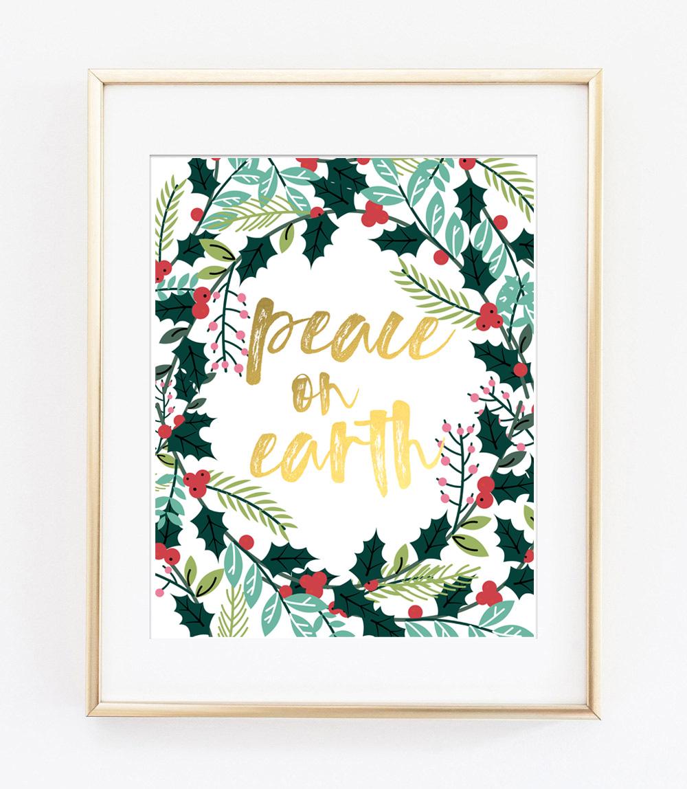 christmas printable art 2