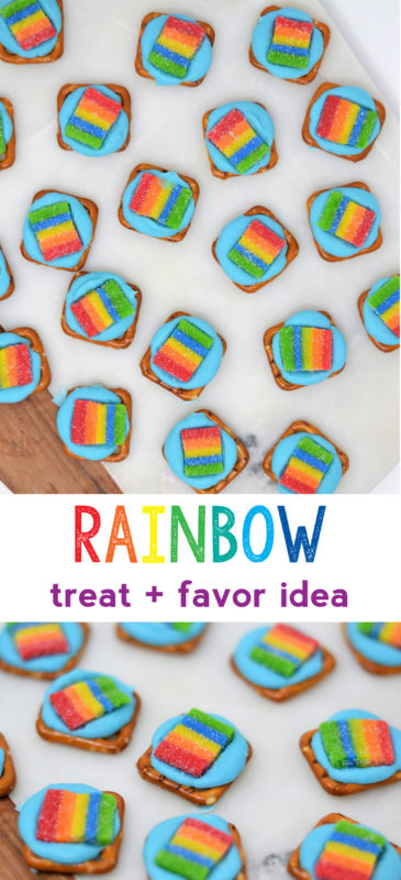 rainbow party ideas | rainbow treat | rainbow candy recipe