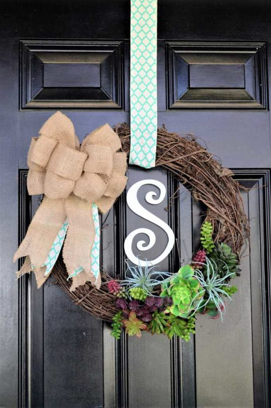 make twig wreath