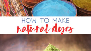 how to make natural pigments | natural dyes | basic dyes | how to stain wood | how to dye fabric | art | diy | crafting