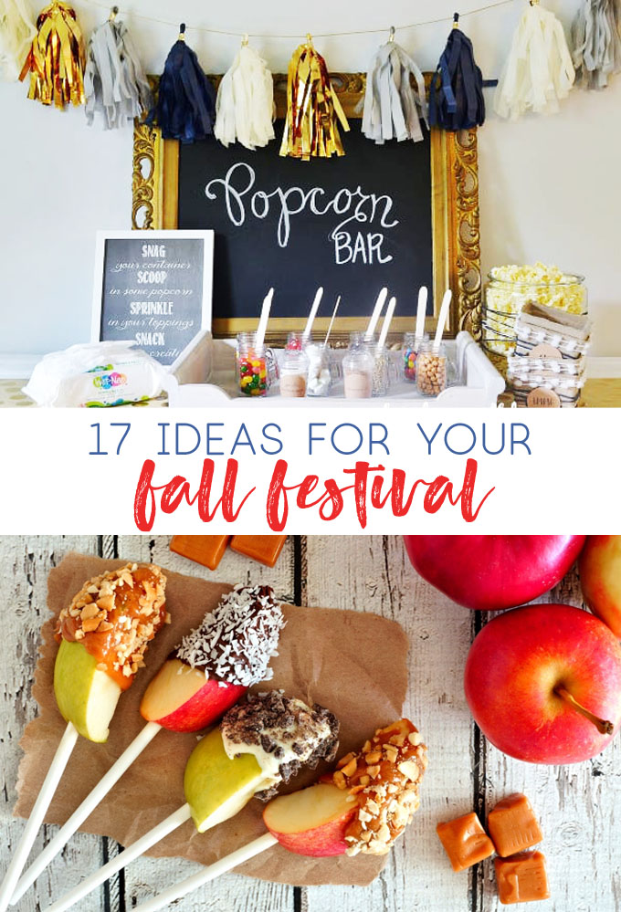 diy popcorn bar | fall festival | fall ideas | fair | autumn | crafts | diy