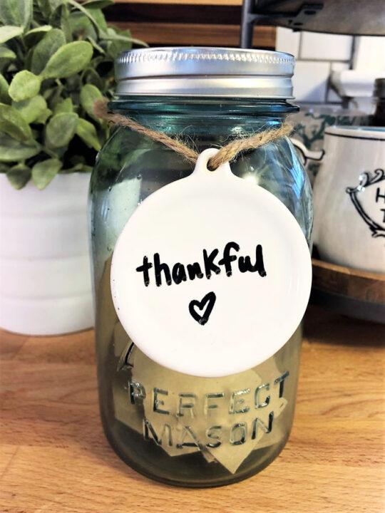 make a thankful jar 3