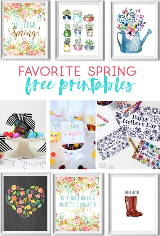 free printables for spring