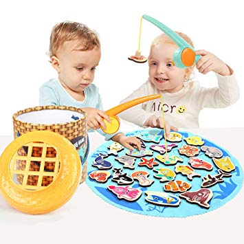 TOP BRIGHT Toddler Games Fishing Toys