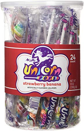 Adam & Brooks Mini Unicorn Pops 24ct