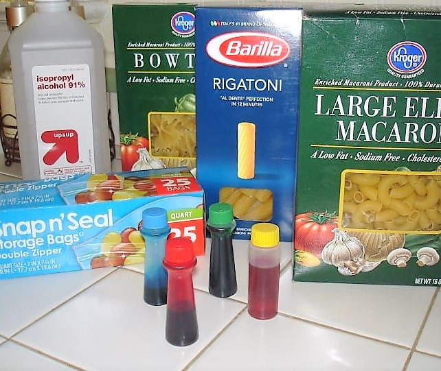 pasta coloring