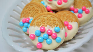 gender reveal oreos