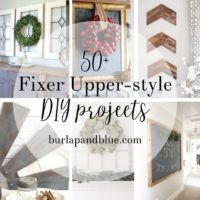 Joanna Gaines Inspired Decor {fixer upper DIY projects and tutorials}