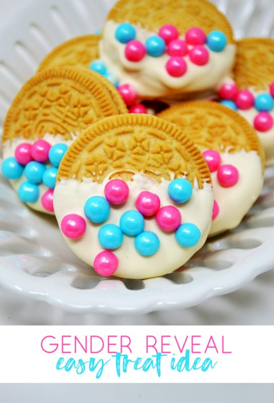 gender reveal food idea | sprinkle oreos | gender reveal party