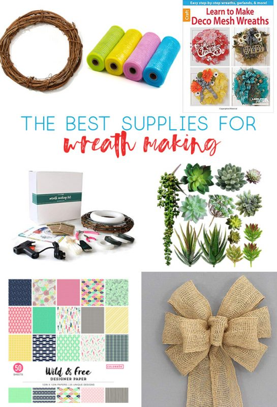 wreath supplies | wreath making | how to make wreaths | cheap craft supplies | cheap wreath supplies