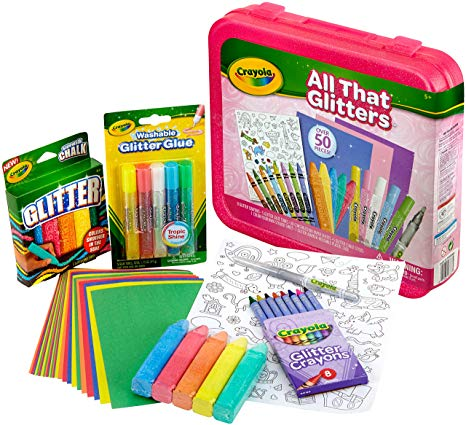 Crayola All That Glitters Art Case