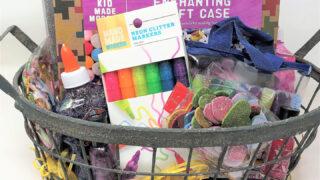 glitter gift basket ideas