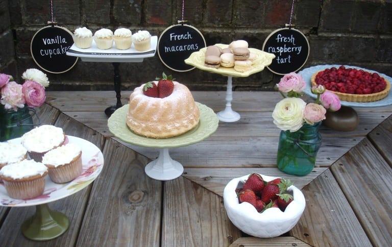 dessert station