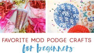 mod podge craft photos