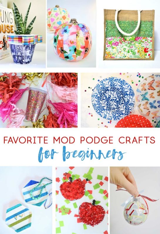 mod podge craft ideas