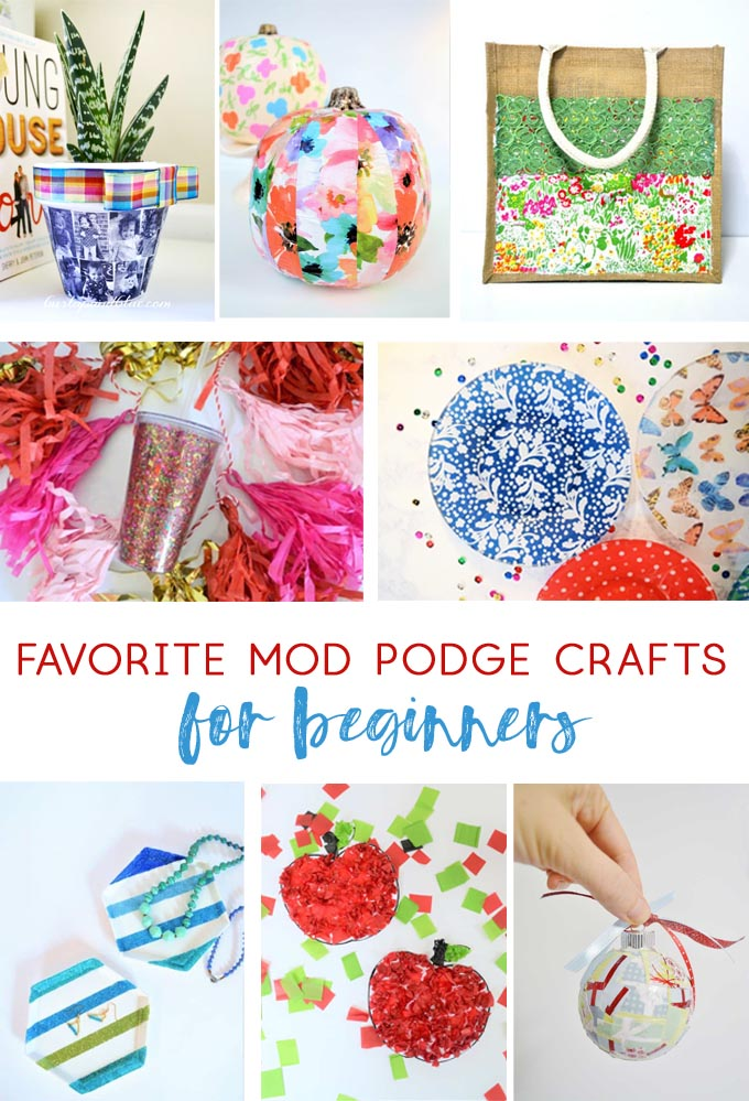 mod podge craft photos