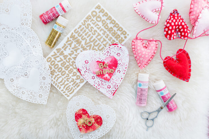 Toddler-Friendly (and Mess-Free!) DIY Painted Valentine's Day Cards
