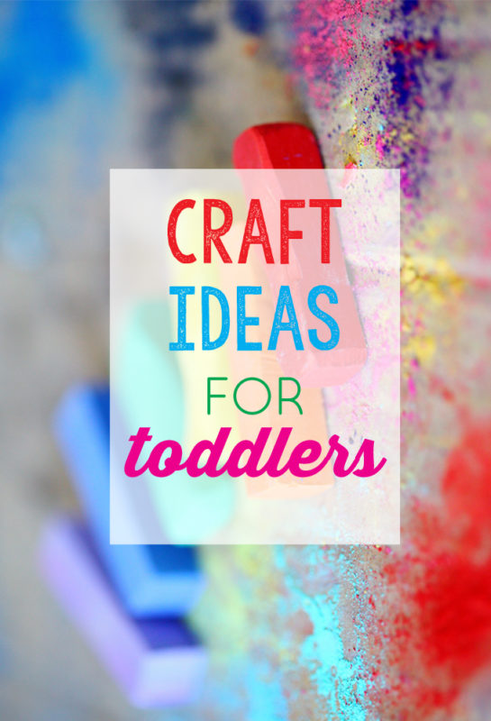 craft ideas for 1 year olds