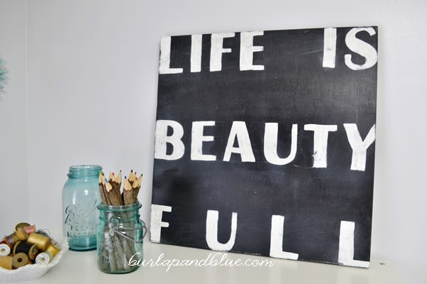 life is beauty full sign