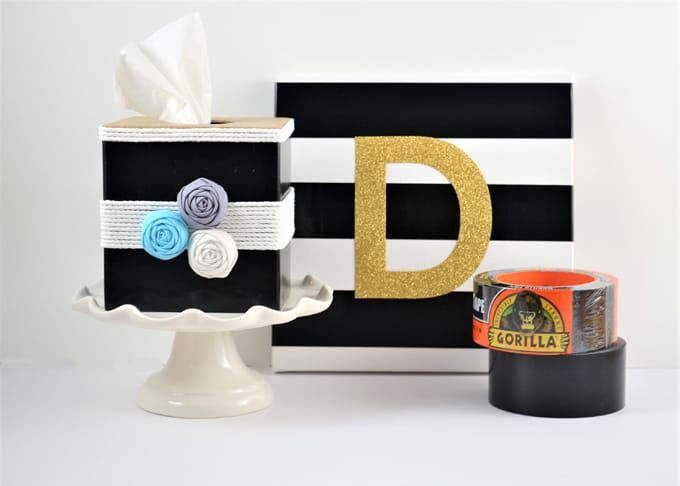 Duct Tape Crafts {Easy Gorilla Tape Craft Ideas}