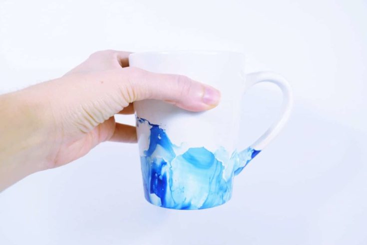 How to Make Nail Polish Mugs